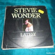 Discos de vinilo: STEVIE WONDER. LATELY / IF IT´SMAGIC. MOTOWN, 1980.. Lote 210635928