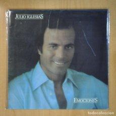 Discos de vinilo: JULIO IGLESIAS - EMOCIONES - LP. Lote 210640484