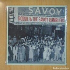 Discos de vinilo: ROBBIE & THE SAVOY RUMBLERS - ROBBIE & THE SAVOY RUMBLERS - MAXI. Lote 210640712