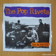 Discos de vinilo: THE POP RIVETS - FUN IN THE U.K. - LP. Lote 210640953