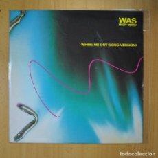 Discos de vinilo: WAS (NOT WAS) - WHEEL ME OUT (LONG VERSION) - MAXI. Lote 210641002