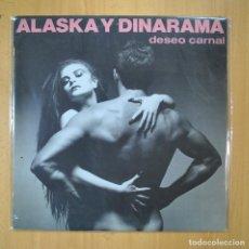 Discos de vinilo: ALASKA Y DINARAMA - DESEO CARNAL - LP. Lote 210641147