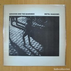 Discos de vinilo: SIOUXSIE AND THE BANSHEES - METAL SHADOWS - LP. Lote 210641204