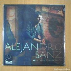 Discos de vinilo: ALEJANDRO SANZ - EL TREN DE LOS MOMENTOS + CD - LP. Lote 210641279