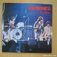 Discos de vinilo: RAMONES - IT S ALIVE - GATEFOLD - 2 LP. Lote 210641385