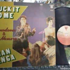 Discos de vinilo: ALMODÓVAR & MCNAMARA MAXI PROMOCIONAL SUCK IT YO ME / GRAN GANGA 1982. Lote 210644685