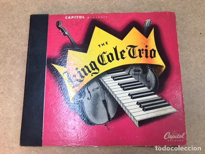 Discos de vinilo: The KING COLE TRÍO lote de 6 vinilos edición especial 1944 - Foto 2 - 210644937