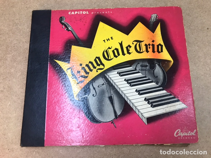 THE KING COLE TRÍO LOTE DE 6 VINILOS EDICIÓN ESPECIAL 1944 (Música - Discos de Vinilo - EPs - Jazz, Jazz-Rock, Blues y R&B)