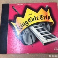 Discos de vinilo: THE KING COLE TRÍO LOTE DE 6 VINILOS EDICIÓN ESPECIAL 1944. Lote 210644937