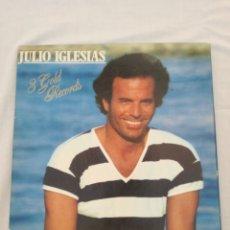 """Discos de vinilo: JULIO IGLESIAS,""""3 GOLD RECORDS """" LPS. Lote 210647374"""