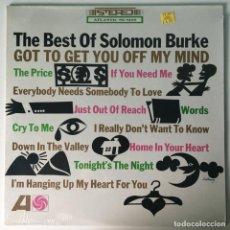 Discos de vinilo: SOLOMON BURKE – THE BEST OF SOLOMON BURKE, CANADA ATLANTIC. Lote 210651342