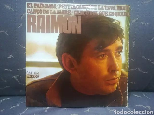 RAIMON (Música - Discos de Vinilo - EPs - Solistas Españoles de los 70 a la actualidad)