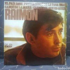 Discos de vinilo: RAIMON. Lote 210651441