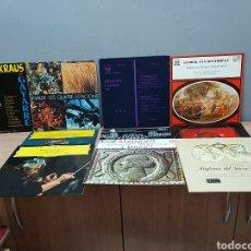 Discos de vinilo: LOTE DE 10 DISCOS DE VINILO. Lote 210659304