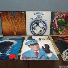 Discos de vinilo: LOTE DE 9 DISCOS DE VINILO ANTIGUO. Lote 210661891