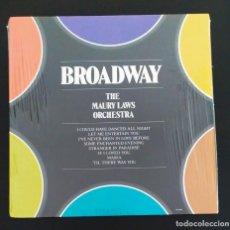 Discos de vinilo: THE MAURY LAWS ORCHESTRA - BROADWAY (LP. BANDAS SONORAS). Lote 210663801