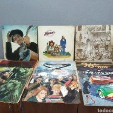 Discos de vinilo: LOTE DE 9 DISCOS DE VINILO ANTIGUO. Lote 210664554