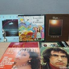 Discos de vinilo: LOTE DE 7 DISCOS DE VINILO. Lote 210665606