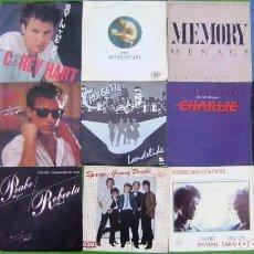 Discos de vinilo: LOTE 15 SINGLES: COREY HART, MR.MISTER, SPARGO,BROTHER BEYOND, QUARTERFLASH, BAD COMPANY, SAKAMOTO... Lote 210667757