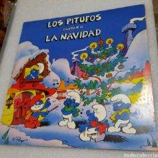 Discos de vinilo: LOS PITUFOS CANTAN A LA NAVIDAD. Lote 210670914