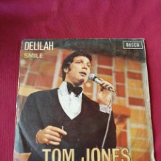 Discos de vinilo: TOM JONES. DELILAH. Lote 210671426