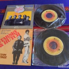 Discos de vinil: SINGLE BSO STARSKY & HUTCH Y SWAT LOS HOMBRES DE HARRELSON. ABC RECORDS AÑOS 70.. Lote 210672056