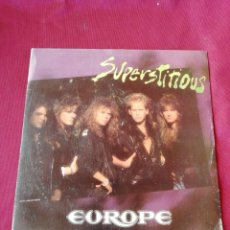 Discos de vinilo: EUROPE. SUPERSTITIOUS. Lote 210672519