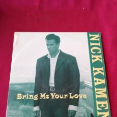 Discos de vinilo: NICK HAMEN. BRING ME YOUR LOVE. Lote 210672684