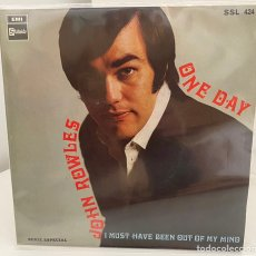 Discos de vinilo: JOHN ROWLES-ONE DAY/I MUST HAVE BEEN OUT OF MY MIND/SINGLE 1969 STATESIDE,ESPAÑA. Lote 210674250