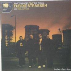 "Discos de vinilo: PLATTENPAPZT FT. DIE FIRMA - ABS [GERMANY HIP HOP / RAP] [EDICIÓN ORIGINAL MX 12"" 33RPM] [2000]. Lote 210675365"