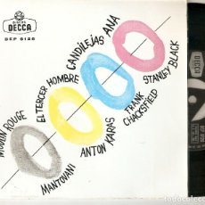 "Discos de vinilo: MANTOVANI KARAS FRANK CHACKSFIELD STANLEY BLACK 7"" SPAIN EP 45 SINGLE VINILO 1961 JAZZ BOP BSO MIRA. Lote 210677321"