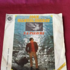 Discos de vinilo: JOAN MANUEL SERRAT. LA PALOMA. Lote 210678929