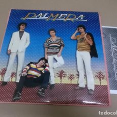 Discos de vinil: PALMERA (LP) PALMERA AÑO – 1981 – PROMOCIONAL + HOJAS PROMO CON BIOGRAFIA. Lote 210679445