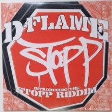 """Discos de vinilo: D-FLAME - STOPP [GERMANY HIP HOP / RAP] [EDICIÓN ORIGINAL EXCLUSIVA MX 12"""" 33RPM] [2003]. Lote 210679965"""