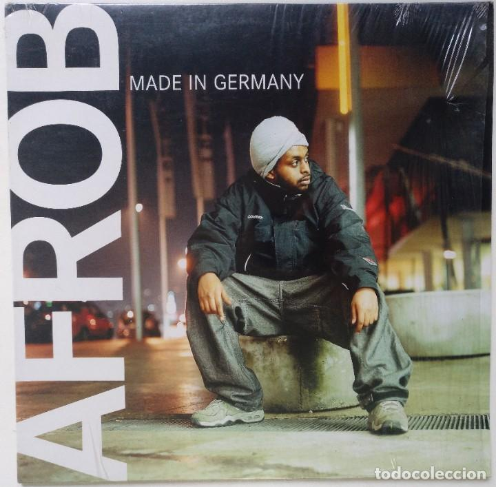 "AFROB - MADE IN GERMANY [GERMANY HIP HOP / RAP] [EDICIÓN ORIGINAL EXCLUSIVA MX 12"" 33RPM] [2001] (Música - Discos de Vinilo - Maxi Singles - Rap / Hip Hop)"