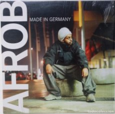 "Discos de vinilo: AFROB - MADE IN GERMANY [GERMANY HIP HOP / RAP] [EDICIÓN ORIGINAL EXCLUSIVA MX 12"" 33RPM] [2001]. Lote 210681156"