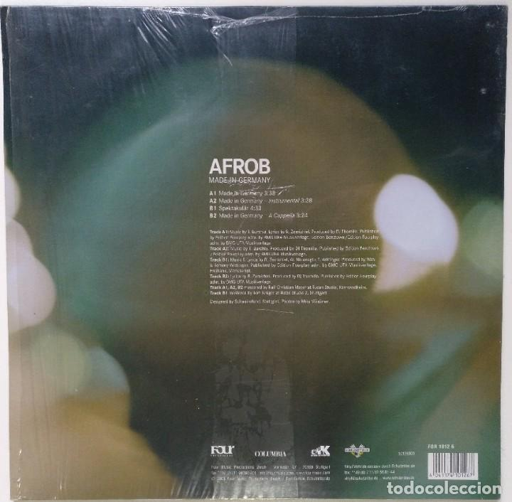 "Discos de vinilo: AFROB - MADE IN GERMANY [GERMANY HIP HOP / RAP] [EDICIÓN ORIGINAL EXCLUSIVA MX 12"" 33RPM] [2001] - Foto 2 - 210681156"