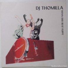 "Discos de vinilo: DJ THOMILLA - WENN DER BEAT FLIPPT [[ GERMANY HIP HOP / ELECTRO ORIGINAL]] [MX 12"" 45RPM] [1999]]. Lote 210682844"