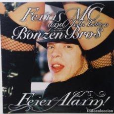 "Discos de vinilo: FERRIS MC UND TOBI TOBSEN - FEIER ALARM [[ GERMANY HIP HOP / RAP ORIGINAL]] [MX 12"" 45RPM] [2004]]. Lote 210685760"