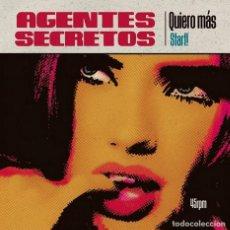 Discos de vinilo: AGENTES SECRETOS - QUIERO MAS. Lote 210689661