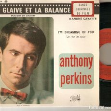 "Discos de vinilo: LOU BENNETT JAZZ COMBO 7"" FRANCIA EP 45 DOS SON CULPABLES SINGLE VINILO 1963 ANTHONY PERKINS BSO VER. Lote 210692424"