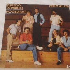 Discos de vinilo: SINGLE. MOCEDADES Y PLÁCIDO DOMINGO. 1983. Lote 210694209