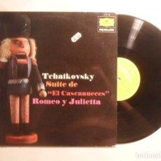 Dischi in vinile: LP - TCHAIKOVSKY - EL CASCANUECES / ROMEO Y JULIETA - DEUTSCHE GRAMMOPHON - 1977. Lote 210694556