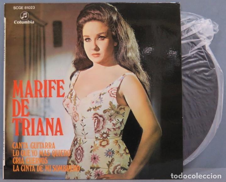 EP. MARIFE TRIANA. CANTA GUITARRA +3 (Música - Discos de Vinilo - EPs - Flamenco, Canción española y Cuplé)