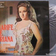 Discos de vinil: EP. MARIFE TRIANA. CANTA GUITARRA +3. Lote 210695511
