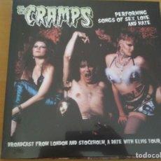 Discos de vinilo: THE CRAMPS PERFORMING SONGS OF SEX LOVE AND HATE LP ¡¡PRECINTADO¡¡. Lote 210697446