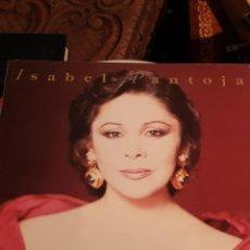 Discos de vinilo: ISABEL PANTOJA LA CANCION ESPAÑOLA 1990 DOBLE. Lote 210701791
