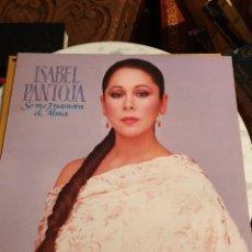 Discos de vinilo: ISABEL PANTOJA SE ME ENAMORA EL ALMA LP AÑO 1989. Lote 210702320