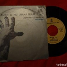 "Discos de vinilo: 7"" HERB ALPERT - JERUSALEM / LIMPIANDO LA ORQUESTA - SINGLE - SPAIN - A&M H 653 (VG+/EX). Lote 210704302"