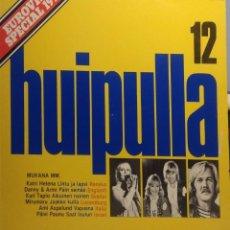 Discos de vinilo: LP HUIPULLA 12 / EUROVISION SPECIAL 1977 (CANTA KATRI HELENA, DANNY, SILHUETIT, KARI TAPIO, MIRUMARU. Lote 210708702